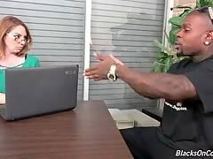 Kiki Daire Longs To Taste Big Black Cocks 1