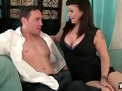 Lovely Milf Starves For Step Son`s Dick 1
