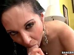 Amazing Brunette Milf Is Very Cock Hungry 2